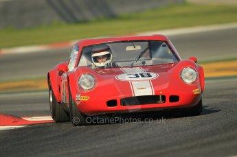 © Octane Photographic Ltd. 2011 Masters Racing Espiritu de Montjuic, April 8th 2011. Sportscar practice. Digital Ref : 0043CB1D0081