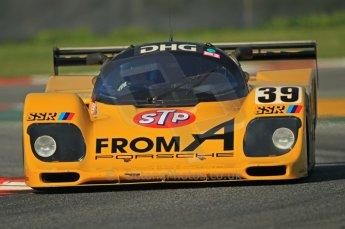 © Octane Photographic Ltd. 2011 Masters Racing Espiritu de Montjuic, April 8th 2011. Sportscar practice. Digital Ref : 0043CB1D0290
