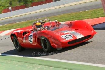 © Octane Photographic Ltd. 2011 Masters Racing Espiritu de Montjuic, April 9th 2011. World Sportscar Masters qualifying. Digital Ref : 0043CB7D0546