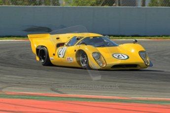 © Octane Photographic Ltd. 2011 Masters Racing Espiritu de Montjuic, April 9th 2011. World Sportscar Masters qualifying. Digital Ref : 0043CB1D0766