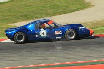© Octane Photographic Ltd. 2011 Masters Racing Espiritu de Montjuic, April 9th 2011. World Sportscar Masters qualifying. Digital Ref : 0043CB1D0818