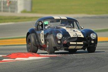 © Octane Photographic Ltd. 2011 Masters Racing Espiritu de Montjuic, April 8th 2011. Sportscar practice. Digital Ref : 0043CB7D0311