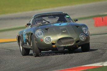 © Octane Photographic Ltd. 2011 Masters Racing Espiritu de Montjuic, April 8th 2011. Sportscar practice.  Digital Ref : 0043CB1D0338