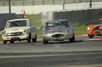 © Octane Photographic Ltd. 2011 Masters Racing Espiritu de Montjuic, April 8th 2011. Sportscar practice. Digital Ref : 0043CB1D0410