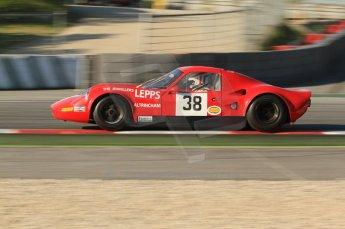 © Octane Photographic Ltd. 2011 Masters Racing Espiritu de Montjuic, April 8th 2011. Sportscar practice. Digital Ref : 0043CB1D0004