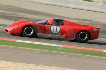 © Octane Photographic Ltd. 2011 Masters Racing Espiritu de Montjuic, April 8th 2011. Sportscar practice. Digital Ref : 0043CB7D0092