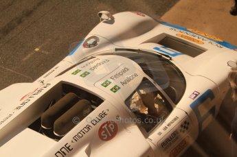 © Octane Photographic Ltd. 2011 Masters Racing Espiritu de Montjuic, April 8th 2011. Sportscar practice. Digital Ref : 0043CB7D0396