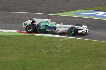 World © Octane Photographic Ltd. Italian GP, Monza, Formula 1 Practice 1. Friday 12th September 2008. Jenson Button, Honda Racing F1 Team RA108. Digital Ref : 0842cb401d0009