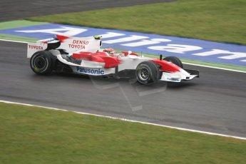 World © Octane Photographic Ltd. Italian GP, Monza, Formula 1 Practice 1. Friday 12th September 2008. Timo Glock, Panasonic Toyota Racing RA108. Digital Ref : 0842cb401d0016