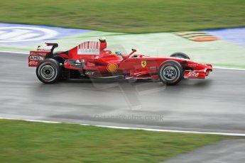 World © Octane Photographic Ltd. Italian GP, Monza, Formula 1 Practice 1. Friday 12th September 2008. Felipe Massa, Scuderia Ferrari Marlboro F2008. Digital Ref : 0842cb401d0030