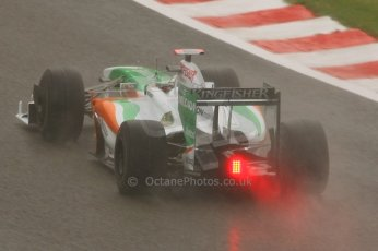 World © Octane Photographic. Belgian GP - Spa Francorchamps, Practice 1, 28th August 2009. Adrian Sutil, Force India VJM02. Digital Ref :