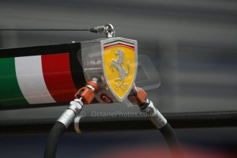 World © Octane Photographic. Belgian GP - Spa Francorchamps, Pitlane, 27th August 2009. Scuderia Ferrai refuelling rig. Digital Ref :