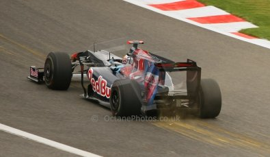 World © Octane Photographic. Belgian GP - Spa Francorchamps, Practice 1, 28th August 2009. Jamie Alguersuari, Toro Rosso STR4. Digital Ref :