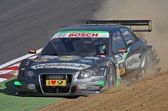 World © Octane Photographic Ltd. 2009. German Touring Cars (DTM) – Brands Hatch, UK. Johannes Seidlitz - Audi A4 DTM 2007 - Kolles Futurecom. 5th September 2009. Digital Ref : 0054CB1D0468
