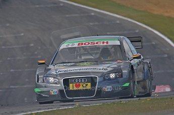 World © Octane Photographic Ltd. 2009. German Touring Cars (DTM) – Brands Hatch, UK. Johannes Seidlitz - Audi A4 DTM 2007 - Kolles Futurecom. 5th September 2009. Digital Ref : 0054CB1D0664