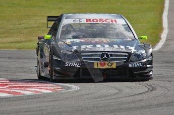 World © Octane Photographic Ltd. 2009. German Touring Cars (DTM) – Brands Hatch, UK. Ralf Schumacher - HWA Team - AMG Mercedes C-Klass 2009. 5th September 2009. Digital Ref : 0054CB1D0781
