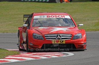 World © Octane Photographic Ltd. 2009. German Touring Cars (DTM) – Brands Hatch, UK. Mathias Lauda - Mucke Motorsport - AMG Mercedes C-Klass 2008. 5th September 2009. Digital Ref : 0054CB1D1015