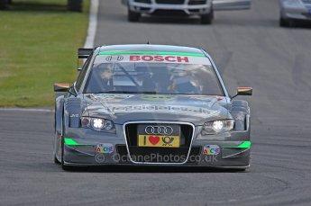 World © Octane Photographic Ltd. 2009. German Touring Cars (DTM) – Brands Hatch, UK. Johannes Seidlitz - Audi A4 DTM 2007 - Kolles Futurecom. 5th September 2009. Digital Ref : 0054CB1D1147