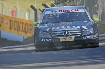 World © Octane Photographic Ltd. 2009. German Touring Cars (DTM) – Brands Hatch, UK. Ralf Schumacher - HWA Team - AMG Mercedes C-Klass 2009. 5th September 2009. Digital Ref : 0054CB1D2017