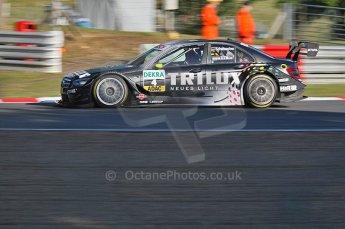 World © Octane Photographic Ltd. 2009. German Touring Cars (DTM) – Brands Hatch, UK. Ralf Schumacher - HWA Team - AMG Mercedes C-Klass 2009. 5th September 2009. Digital Ref : 0054CB1D2062
