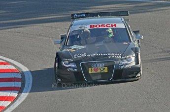 World © Octane Photographic Ltd. 2009. German Touring Cars (DTM) – Brands Hatch, UK. Timo Scheider - Abt Sportsline - Audi A4 DTM 2009. 5th September 2009. Digital Ref : 0054CB1D2080