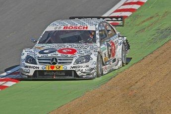 World © Octane Photographic Ltd. 2009. German Touring Cars (DTM) – Brands Hatch, UK. Maro Engel - Mucke Motorsport - AMG Mercedes C-Klass 2008. 5th September 2009. Digital Ref : 0054CB1D2217