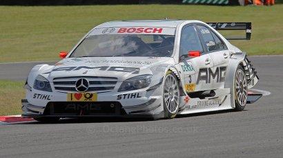 World © Octane Photographic Ltd. 2009. German TouringCars (DTM) – Brands Hatch, UK. Paul di Resta - HWA Team - AMG Mercedes C-Klass 2009. 5th September 2009. Digital Ref : 0054di-resta-1