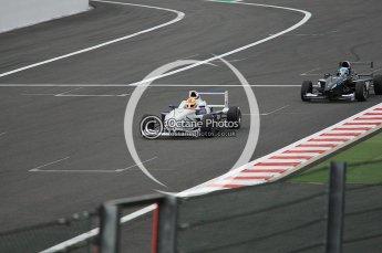 © Octane Photographic 2009. Formula BMW Euroseries - Spa . Robin Frijns - Josef Kaufmann Racing. 29th August 2009. Digital Ref : 0057CB1D9598