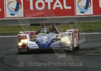 © Octane Photographic 2009. Le Mans 24hour 2009. Bruno Senna - Oreca. Dunlop Chicane. Digital ref: LM09_007