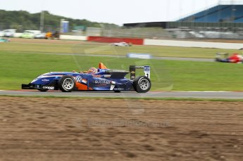 © Octane Photographic 2010. British F3 – Silverstone - Bridge circuit . Adriano Buzaid - Carlin. 14th August 2010. Digital Ref : 0051CB1D1522