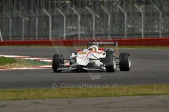 © Octane Photographic 2010. British F3 – Silverstone - Bridge circuit . Carlos Munoz - Mucke Motorsport. 15th August 2010. Digital Ref : 0051CB1D2652