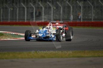 © Octane Photographic 2010. British F3 – Silverstone - Bridge circuit . James Calado - Carlin. 15th August 2010. Digital Ref : 0051CB1D2707