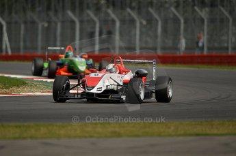 © Octane Photographic 2010. British F3 – Silverstone - Bridge circuit . Oliver Webb - Fortec Motorsport. 15th August 2010. Digital Ref : 0051CB1D2709