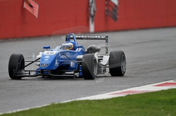 © Octane Photographic 2010. British F3 – Silverstone - Bridge circuit . Carlos Huertas - Raikkonen Roberston Racing. 14th August 2010. Digital Ref : 0051CB7D0642