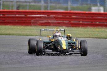 © Octane Photographic 2010. British F3 – Silverstone - Bridge circuit . Jay Bridger - Litespeed F3. 14th August 2010. Digital Ref : 0051CB7D1133