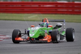 © Octane Photographic 2010. British F3 – Silverstone - Bridge circuit . Lucas Foresti - Carlin. 14th August 2010. Digital Ref : 0051CB7D1152
