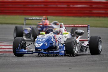 © Octane Photographic 2010. British F3 – Silverstone - Bridge circuit . James Calado - Carlin. 14th August 2010. Digital Ref : 0051CB7D1156