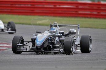 © Octane Photographic 2010. British F3 – Silverstone - Bridge circuit . Gabriel Dias - Hitech Racing. 14th August 2010. Digital Ref : 0051CB7D1171