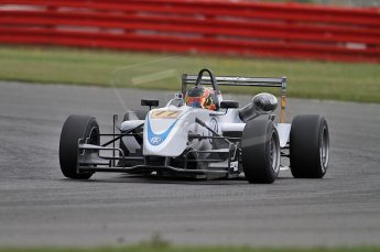 © Octane Photographic 2010. British F3 – Silverstone - Bridge circuit . Pietro Fantin - Hitech Racing. 14th August 2010. Digital Ref : 0051CB7D1175