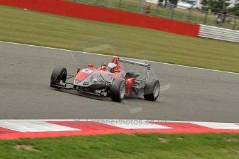 © Octane Photographic 2010. British F3 – Silverstone - Bridge circuit . Oliver Webb - Fortec Motorsport. 15th August 2010. Digital Ref : 0051CB7D2444