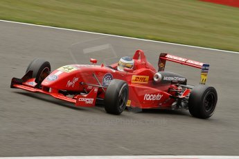 © Octane Photographic 2010. British F3 – Silverstone - Bridge circuit . James Cole - T-Sport. 15th August 2010. Digital Ref : 0051CB7D2458
