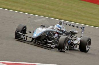 © Octane Photographic 2010. British F3 – Silverstone - Bridge circuit . Gabriel Dias - Hitech Racing. 15th August 2010. Digital Ref : 0051CB7D2530