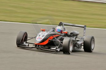 © Octane Photographic 2010. British F3 – Silverstone - Bridge circuit . Hywel Lloyd - CF Racing with Manor Motorsport. 15th August 2010. Digital Ref : 0051CB7D2550