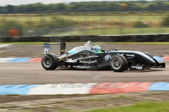 © Octane Photographic 2010. British F3 – Thruxton . William Buller - Hitech Racing. 7th August 2010. Digital Ref : CB1D7984