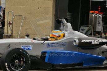 © Octane Photographic 2010. British F3 – Thruxton . Menasheh Idafar - T-Sport. 7th August 2010. Digital Ref : CB1D8215