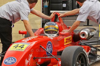 © Octane Photographic 2010. British F3 – Thruxton . James Cole - T-Sport. 7th August 2010. Digital Ref : CB1D8291