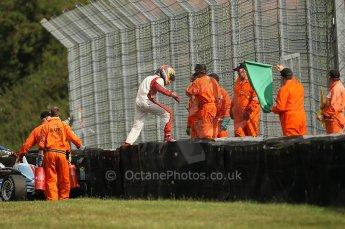 © Octane Photographic 2010. British F3 – Thruxton . Max Snegirev - Fortec Motorsport. 8th August 2010. Digital Ref : CB1D9544
