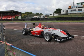 © Octane Photographic 2010. British F3 – Thruxton . Max Snegirev - Fortec Racing. 7th August 2010. Digital Ref : CB5D3757