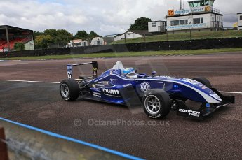 © Octane Photographic 2010. British F3 – Thruxton . Rupert Svendsen-Cook - Carlin. 7th August 2010. Digital Ref : CB5D3758