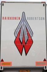 © Octane Photographic 2010. British F3 – Thruxton . Raikkonen Robertson Racing truck. 8th August 2010. Digital Ref : CB5D3839